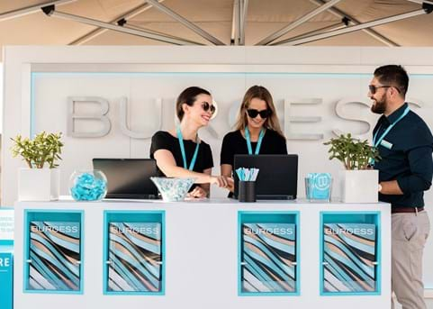 Burgess at the Cannes Yachting Festival 2019