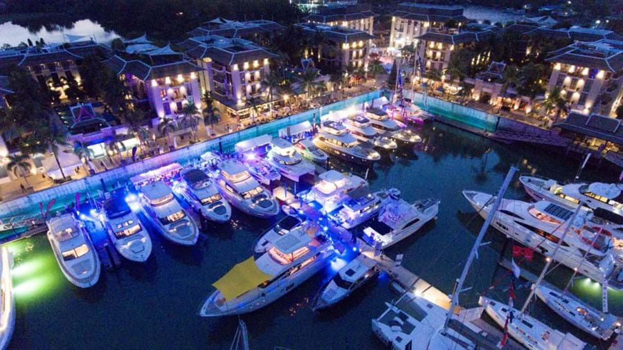 Royal Phuket Marina, home of the Thailand Yacht Show