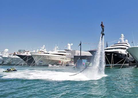 The Superyacht Show in Barcelona