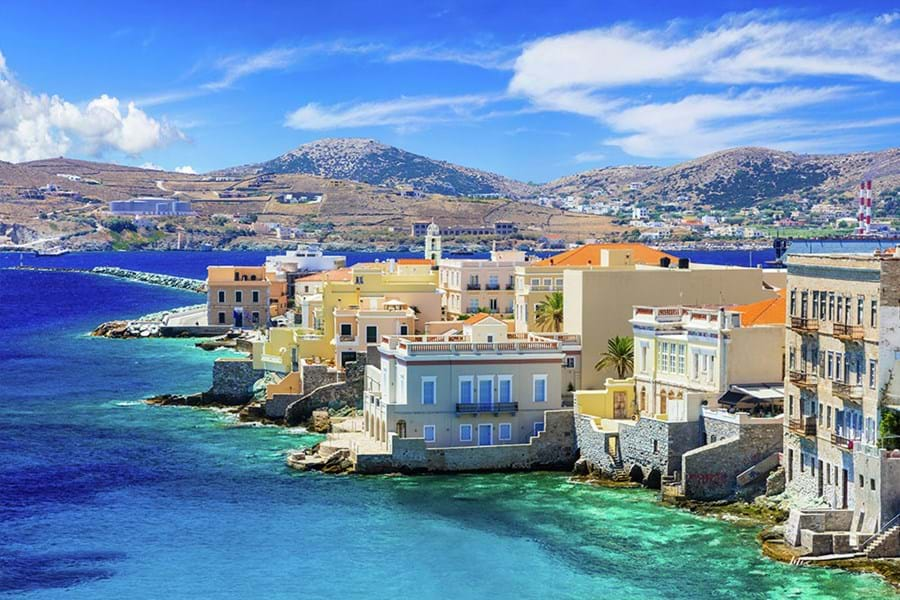 Picturesque Island of Syros