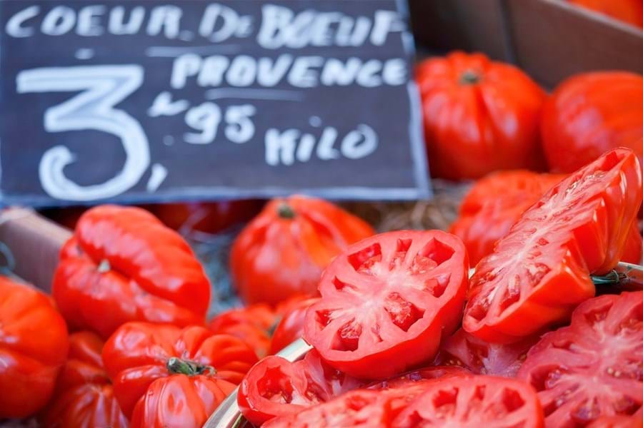 Markets on the French Riviera are crammed with wonderful produce