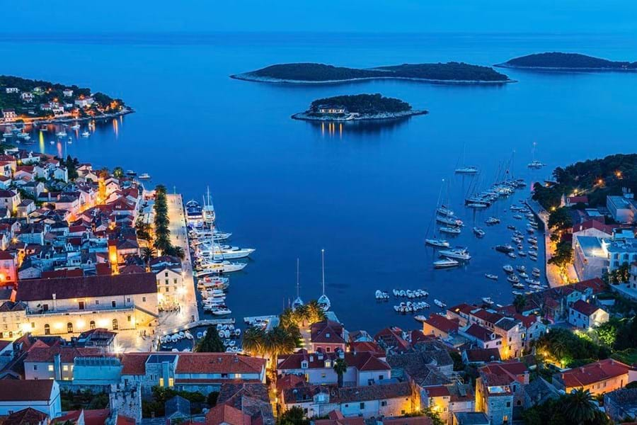 Hvar has become a firm favourite of the superyacht set in the Adriatic