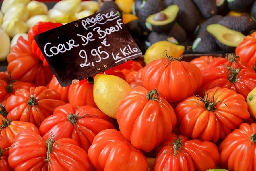 Mediterranean markets in summer are packed with incredible produce