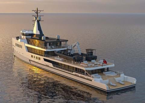 Amels and Damen Yachting signs full custom 72m project with Burgess