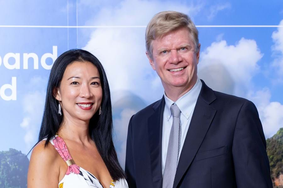 Tiah Hwee and Jean-Marc Poullet