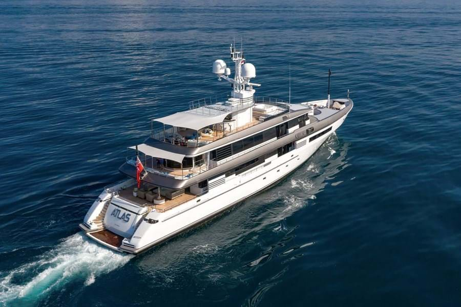 ATLAS (above) and PAPA (below) were among 12 superyacht deals transacted by Burgess' Asia team in its first five years