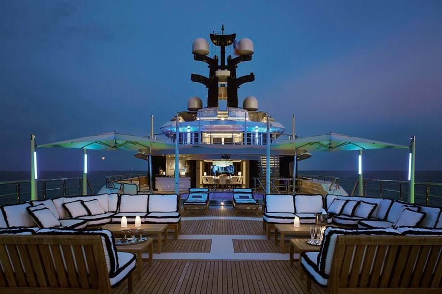 Burgess was appointed by the Malaysian Government as Central Agent for the sale of the 91.5m Oceanco EQUANIMITY
