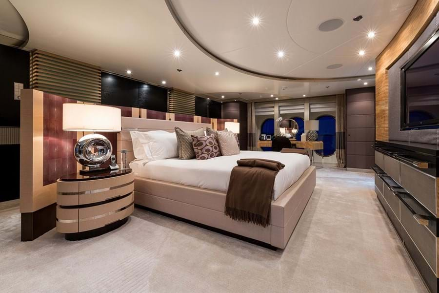 Full-beam master suite