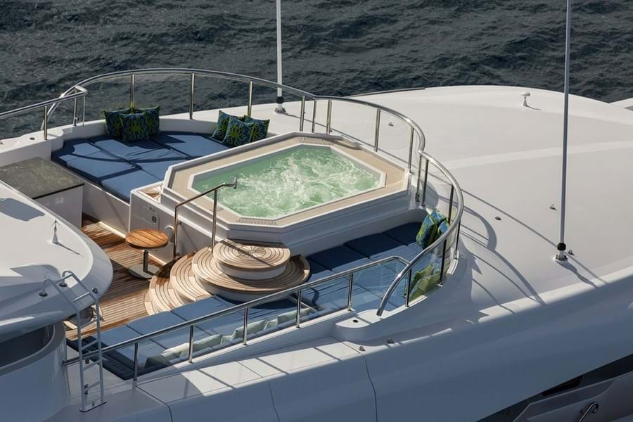 ELYSIAN is currently a sought-after charter yacht
