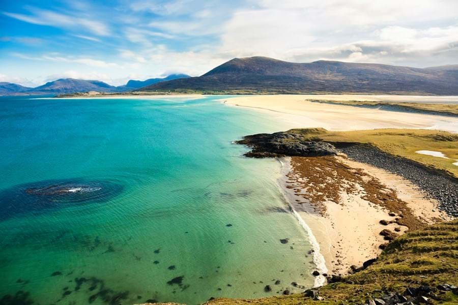 Scotland has some phenomenal beaches like Seilebost on the Isle of Harris