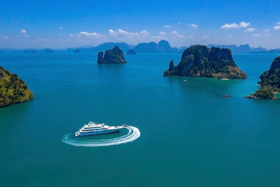 The cruising grounds around Phuket are absolutely spectacular