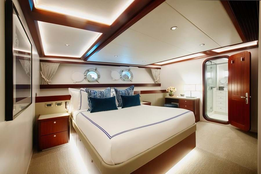 One of the main deck double suites