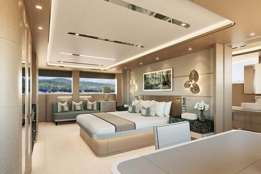 Full-beam owner's suite
