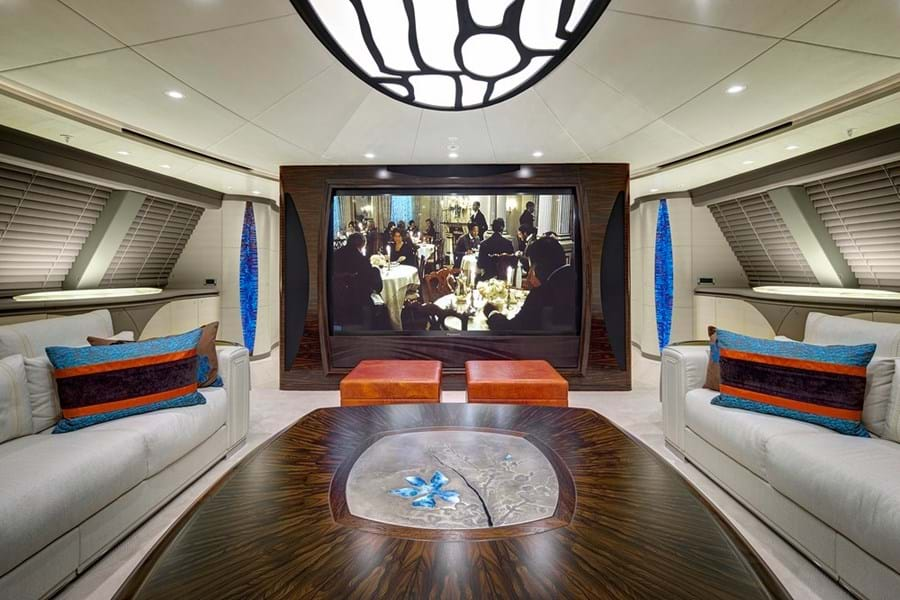 Movie nights on board