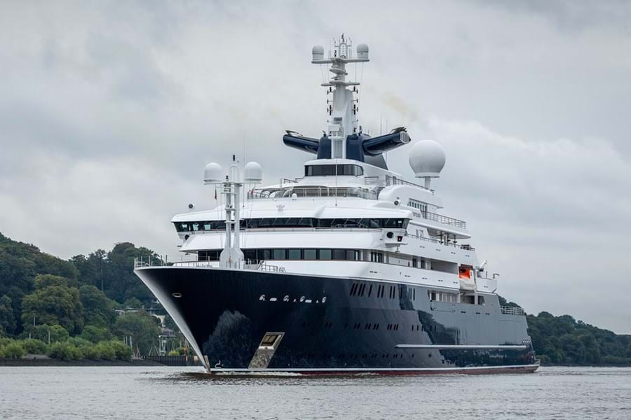 OCTOPUS is a phenomenally capable explorer yacht