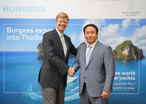 Burgess officially launches in Thailand