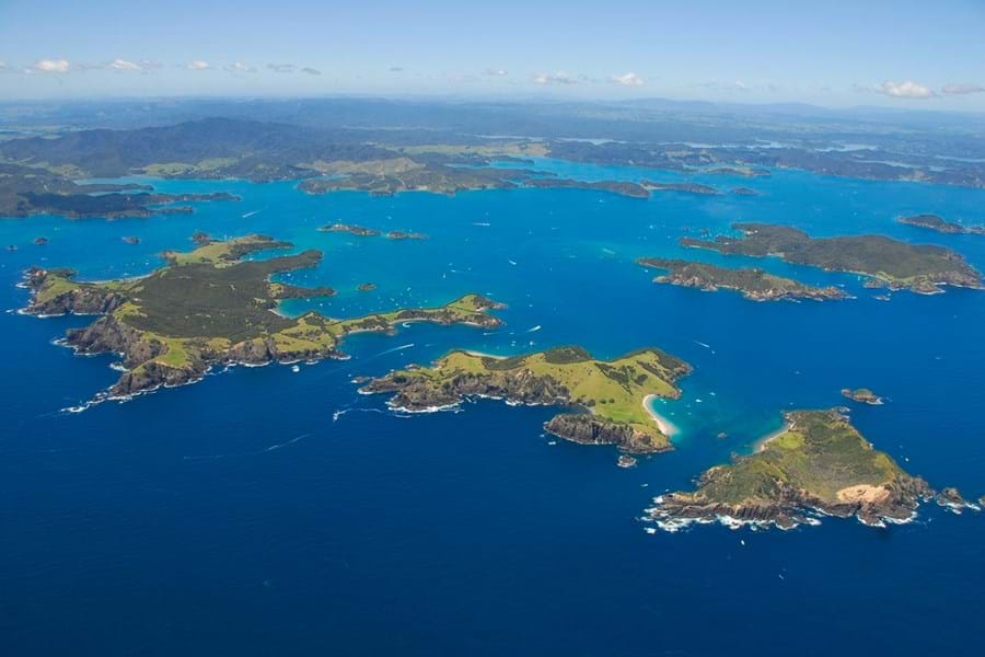 The exquisite Bay of Islands is just one of dozens of must-see destinations in new Zealand