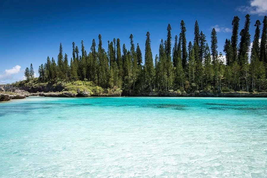The azure waters of Iles des Pins, New Caledonia