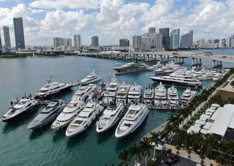 Join Burgess at SuperYacht Miami 2020