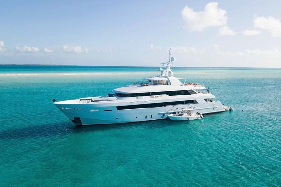 This sought after charter yacht has always had a rigorous maintenance schedule