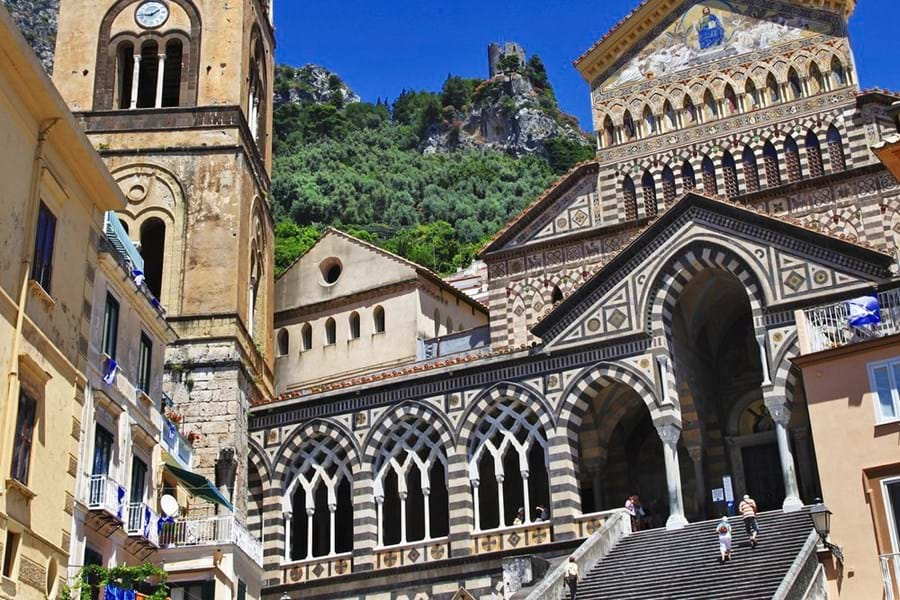 Amalfi's spectacular Duomo in the main piazza