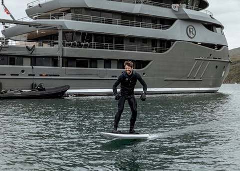Superyachts embrace electric toys