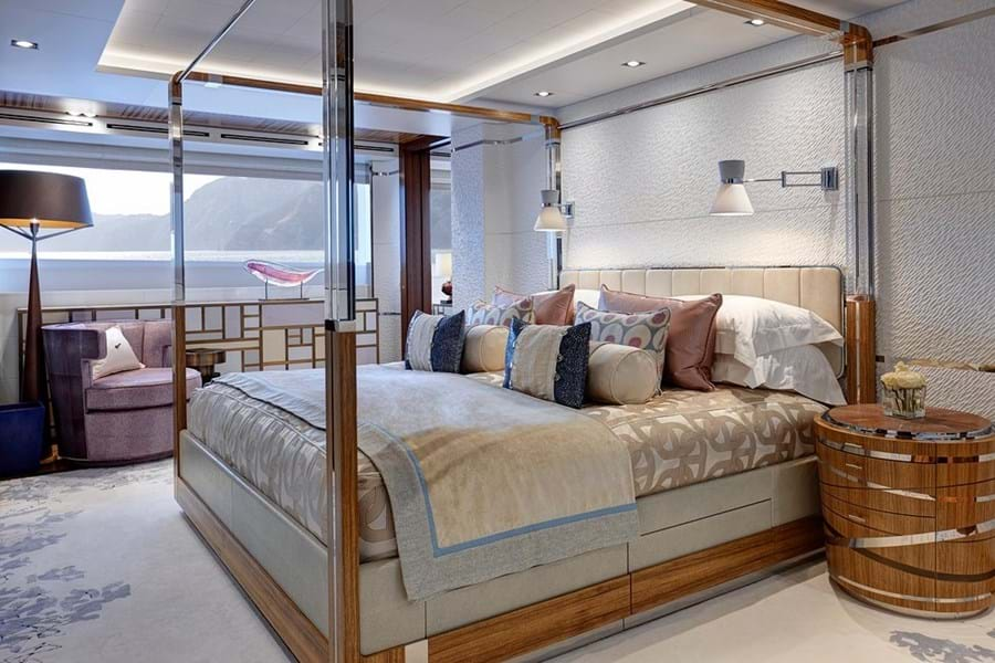 The full-beam master suite