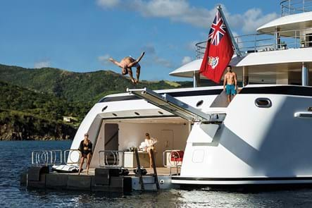 Charter yacht offers