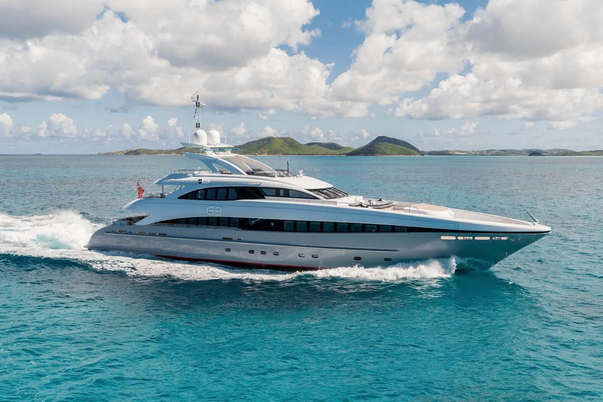 G3 Superyacht Luxury Yacht For Charter Burgess