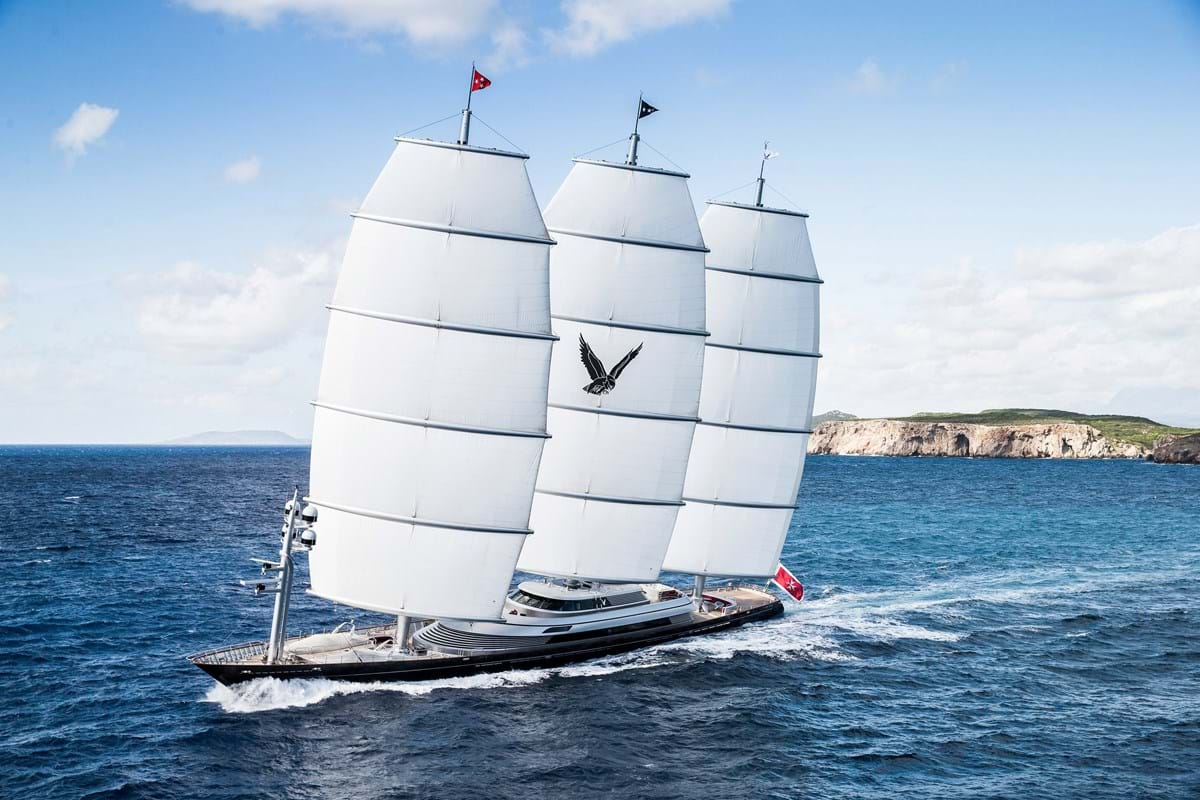 Maltese Falcon Superyacht Luxury Yacht For Charter Burgess