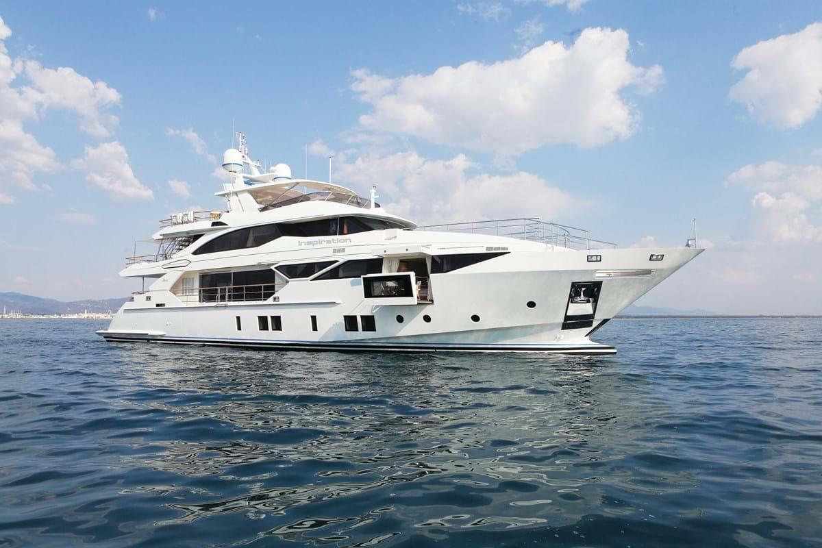 Inspiration Superyacht Luxury Yacht For Charter Burgess