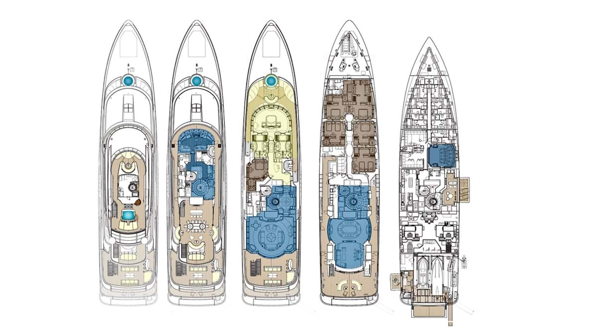 Arience Superyacht Luxury Yacht For Charter Burgess