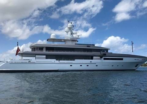 Purchased: 51m yacht ATLAS