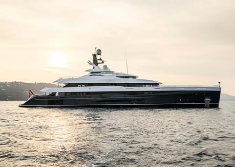 Burgess New Construction successfully delivers new 74m superyacht ELANDESS
