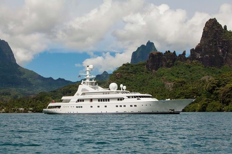 Burgess Signs 80 2m Megayacht Golden Odyssey Ii For Sale