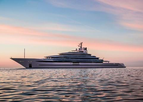 The mighty 110m Oceanco JUBILEE is delivered